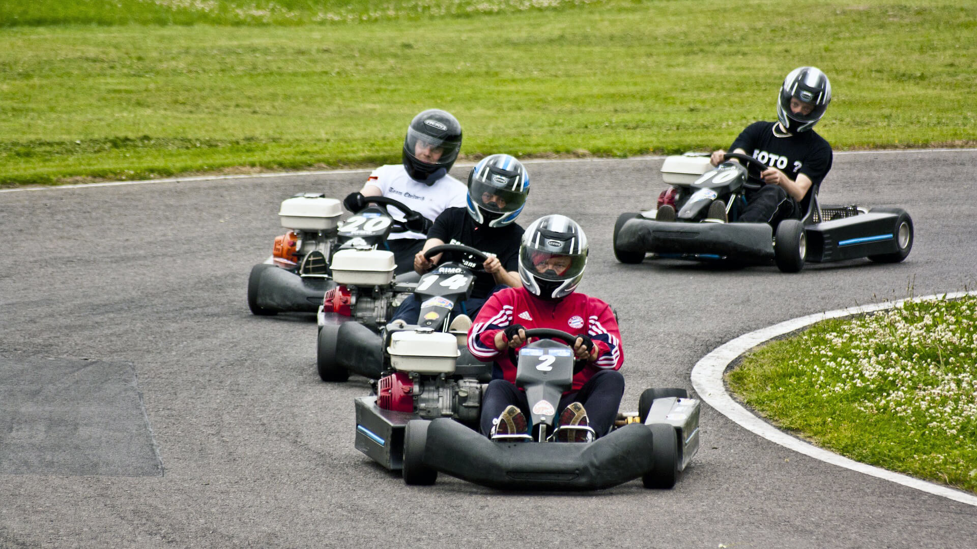 Corridas de Kart